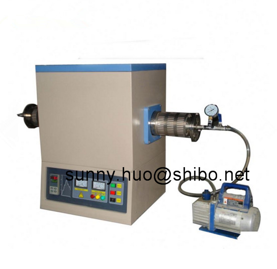 1700C vacuum tube furnace for heat treatment