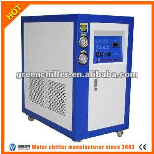 Water cooled scroll industrial chiller