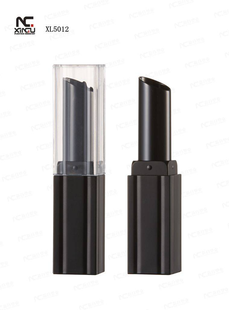 XL5012 New Design Lipstick Container, Made of ABS and AS, Bevel Clear Cover, Customized Logos are Ac