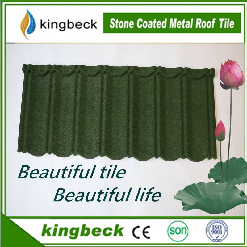 Kingbeck construction material stone coated metal roof tile