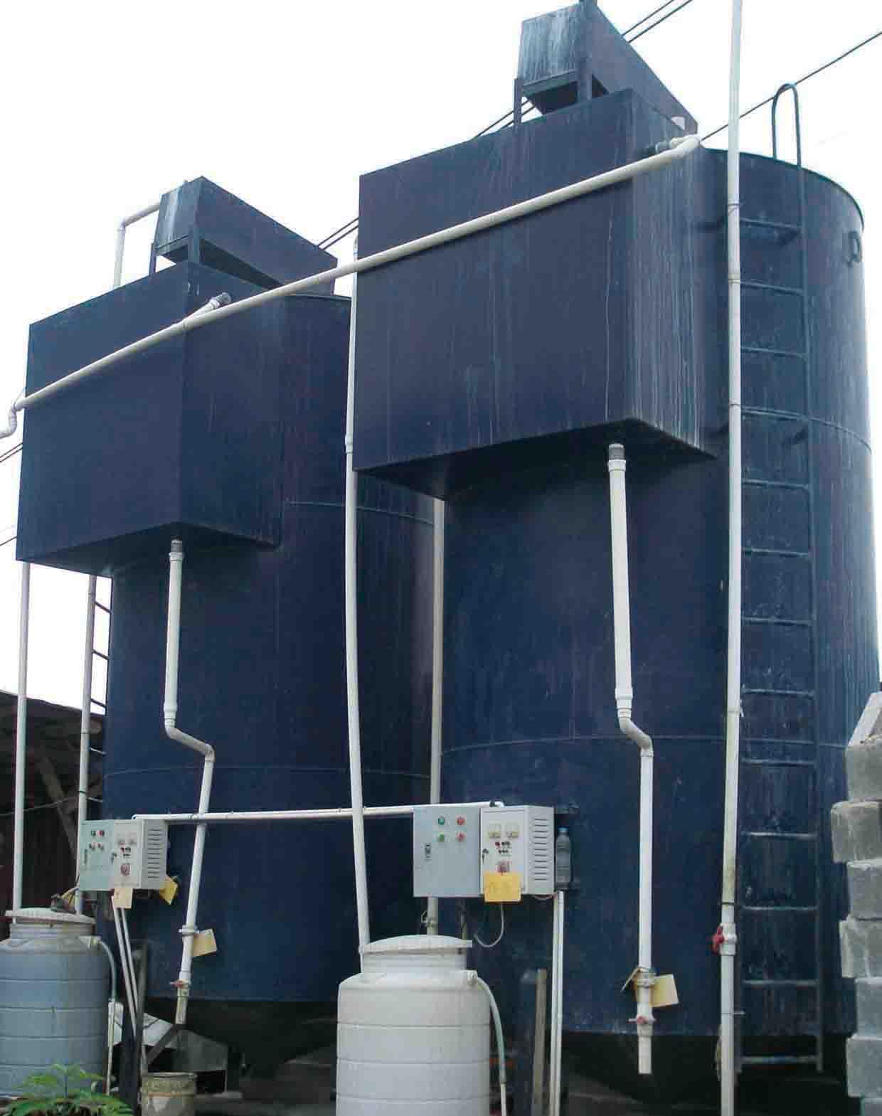 Stone Sewage Clarification System 800 l/m (50m3/h)
