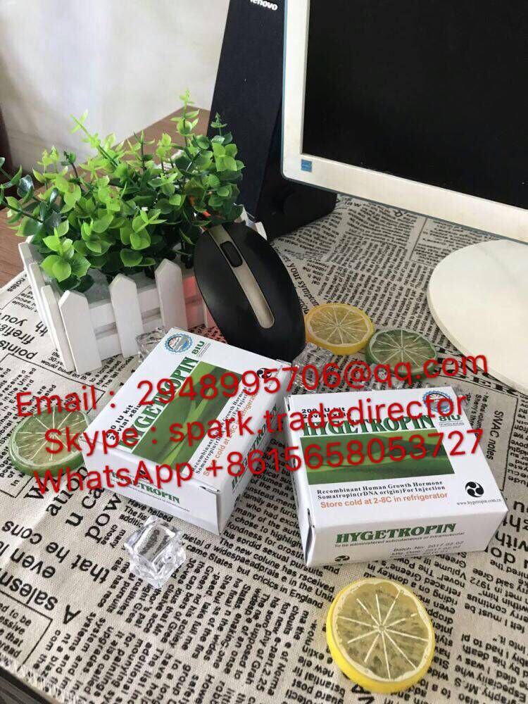 real original china hygetropin top quality green caps