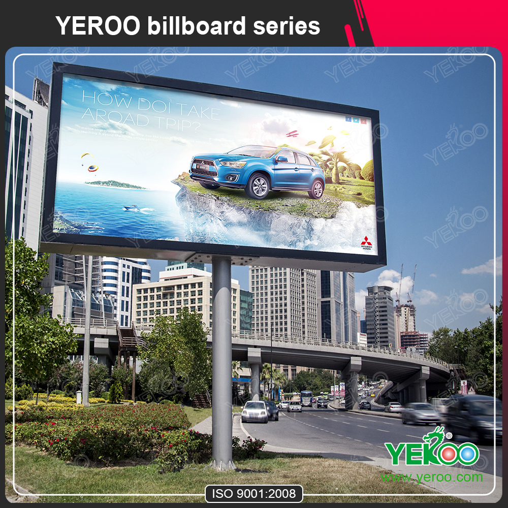 Super Quality City Outdoor Advertising Double-Side Backlit Billboard