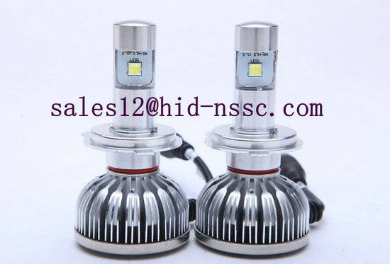 H3 H4 H11 H12 9004 9006 LED auto car headlight with canbus decoder for