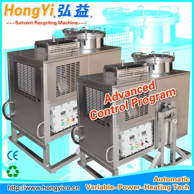 Thinner solvent recovery equipment