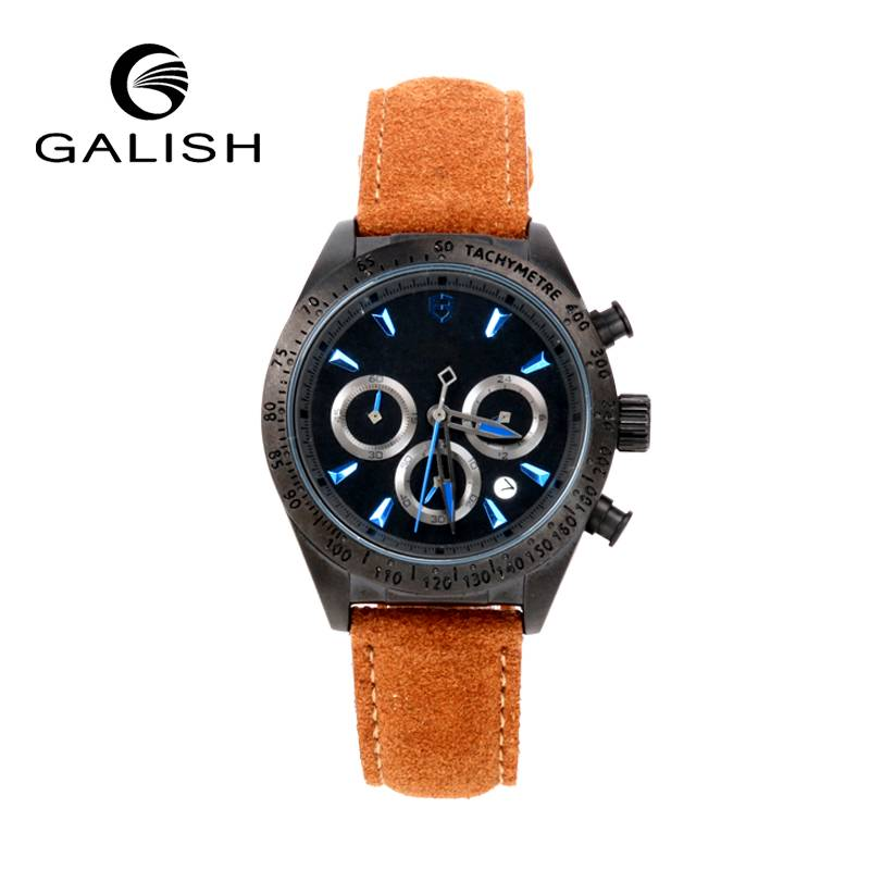 black plating hot sell quartz watch from China