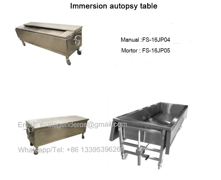 Immersion Autopsy Table