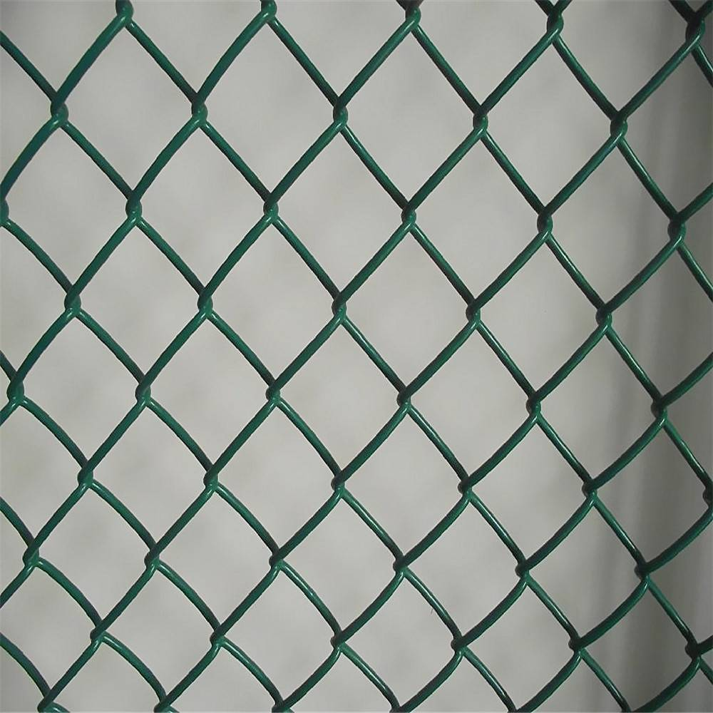 Security PVC Coated Galvanised Chain Link Boundary Fence( Factory, Exporter)