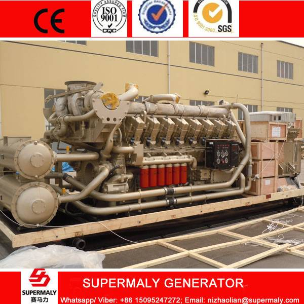 1000KW Natural Gas Generator set with CHP heat exchanger