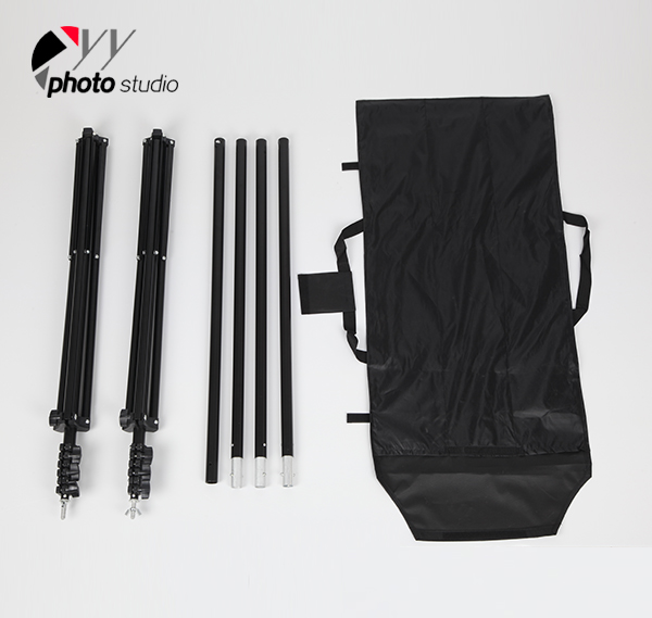 Durable Photo Studio BackdropSupport System 2.4m(H) x 3m(W) YS502