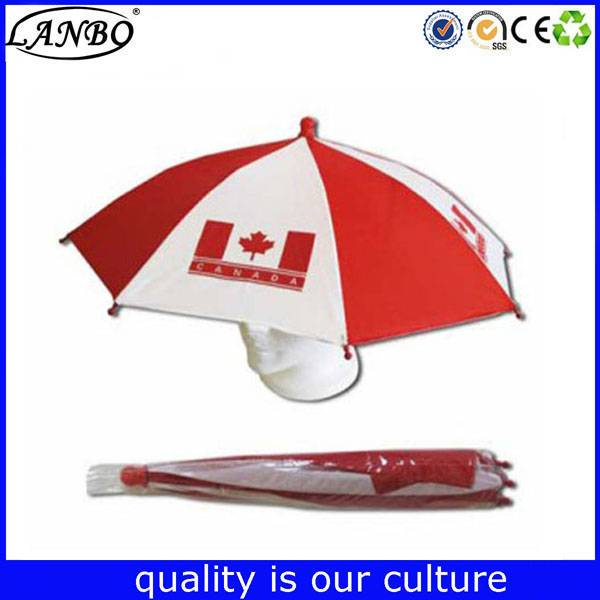 Gentleman Sun Umbrella quote uv protect hat umbrella for Rainy and Sunny Day