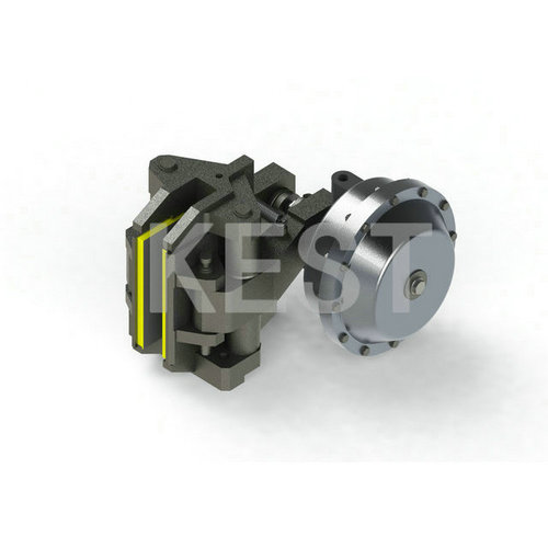 Pneumatic brakes for steel mills