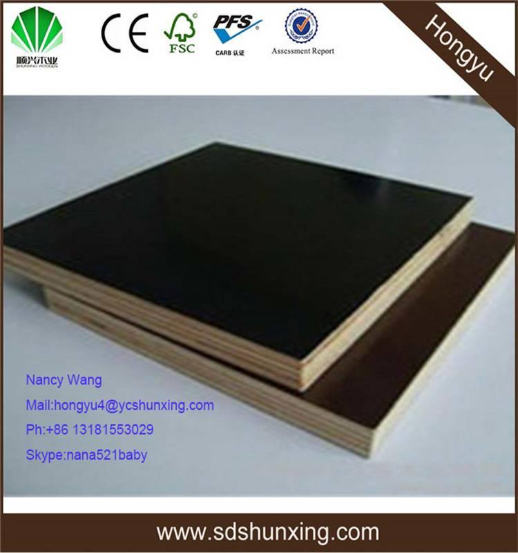 furniture grade melamine shuttering plywood