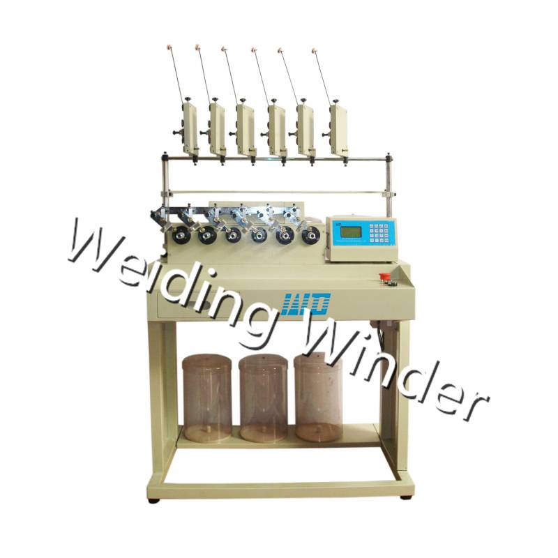 6spindle precision coil winding machine