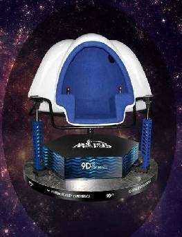 New products the amusement park equipment cinema 9D VR from China