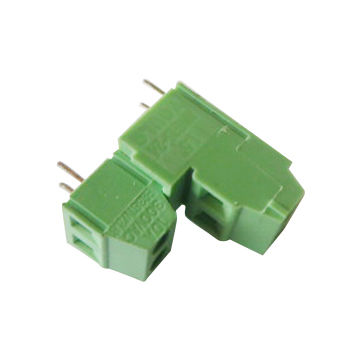 PCB Screw Terminal Blocks, PH 5.08, Green, Tin Plated and PA66