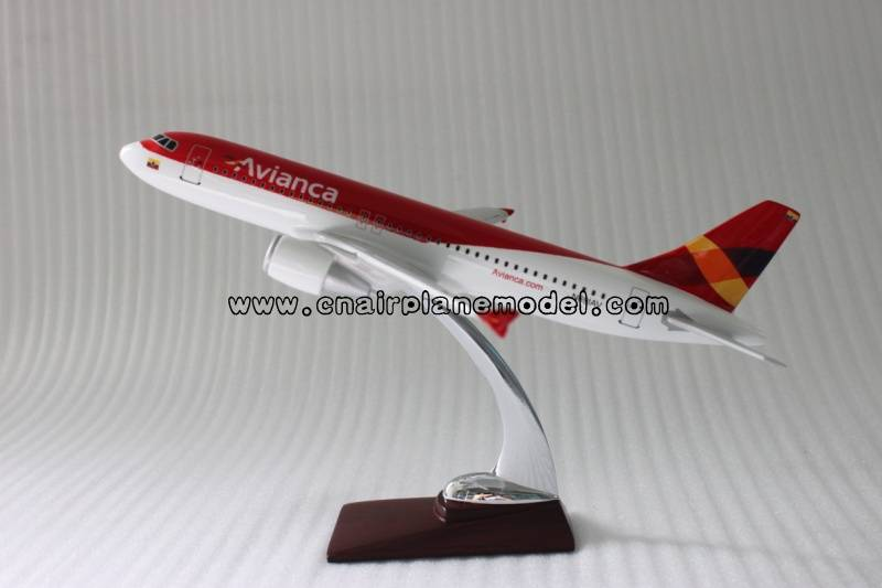 airplane model A320 Avianca