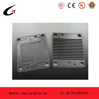 graphite bipolar plate for fuel cell