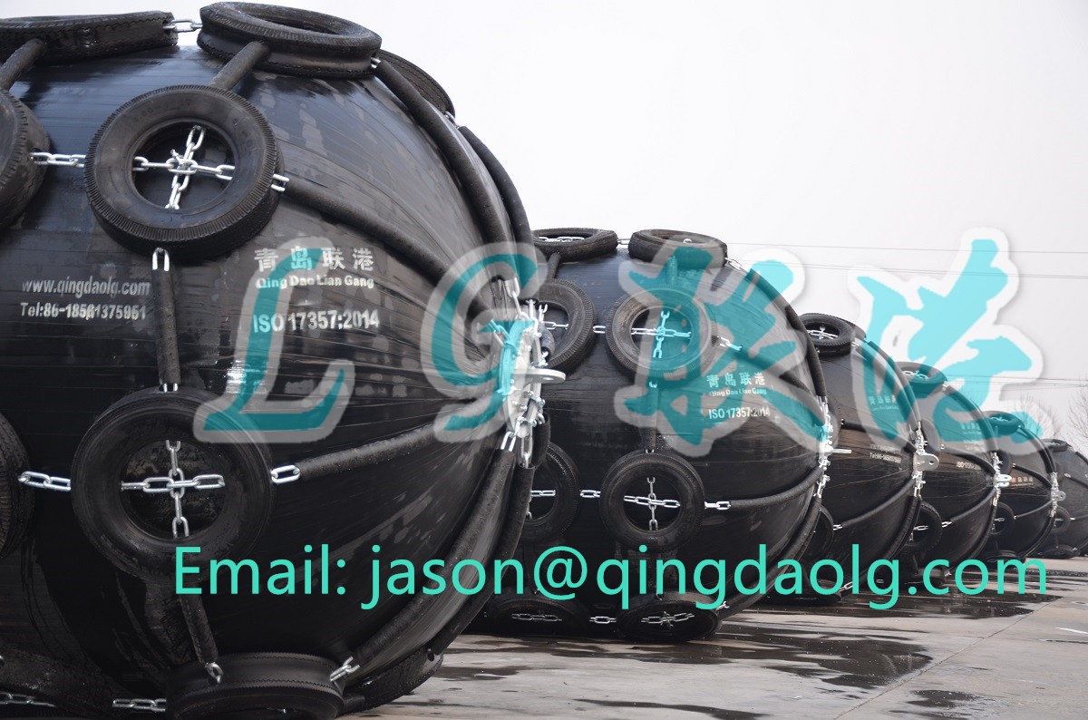 Customized pneumatic rubber fenders ship fenders