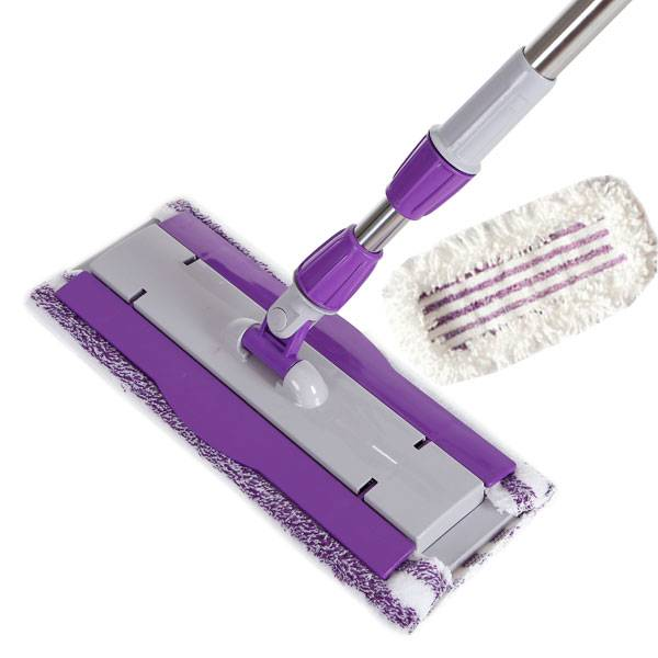 360° Spin Flat Mop-HM0390 Wth Two Mop Clothes