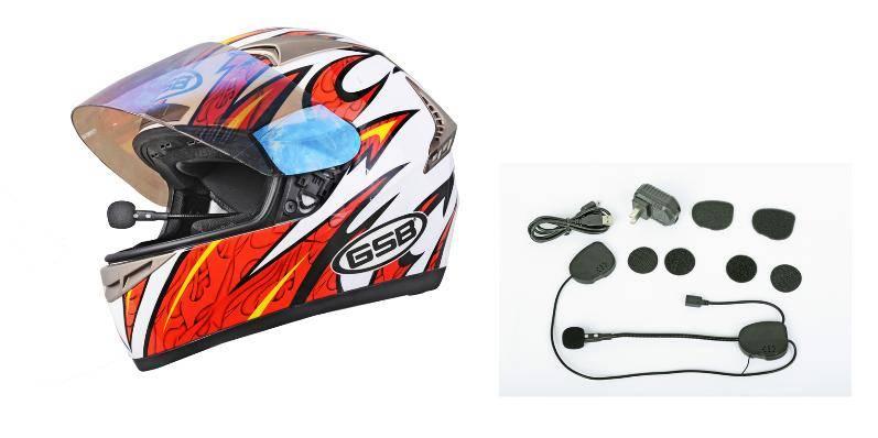 DK-08-2B Bluetooth helmet headset intercom 400 meters