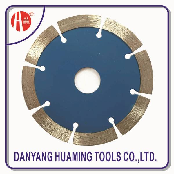 Danyang factory high quality tile and marble tool saw segmented cutting blade for masonry,brick,bloc
