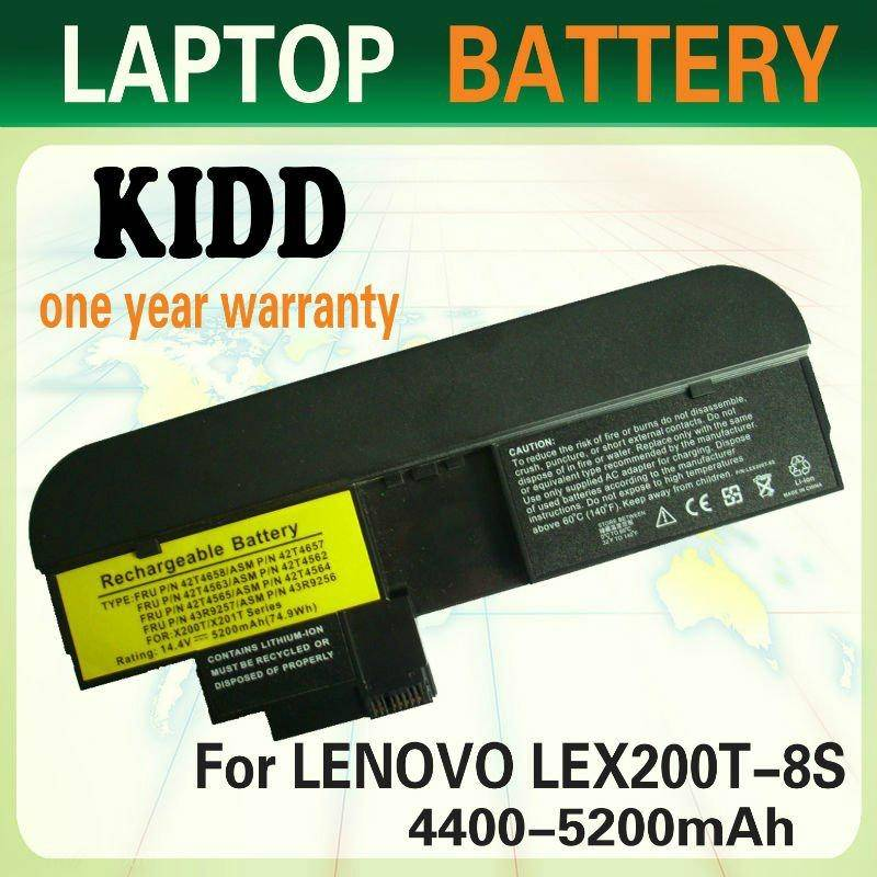 Laptop Battery for LENOVO IBM ThinkPad X200T/X201T Series