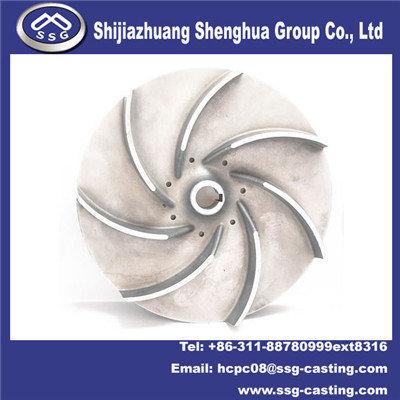 Investment Casting Pump Parts Impeller