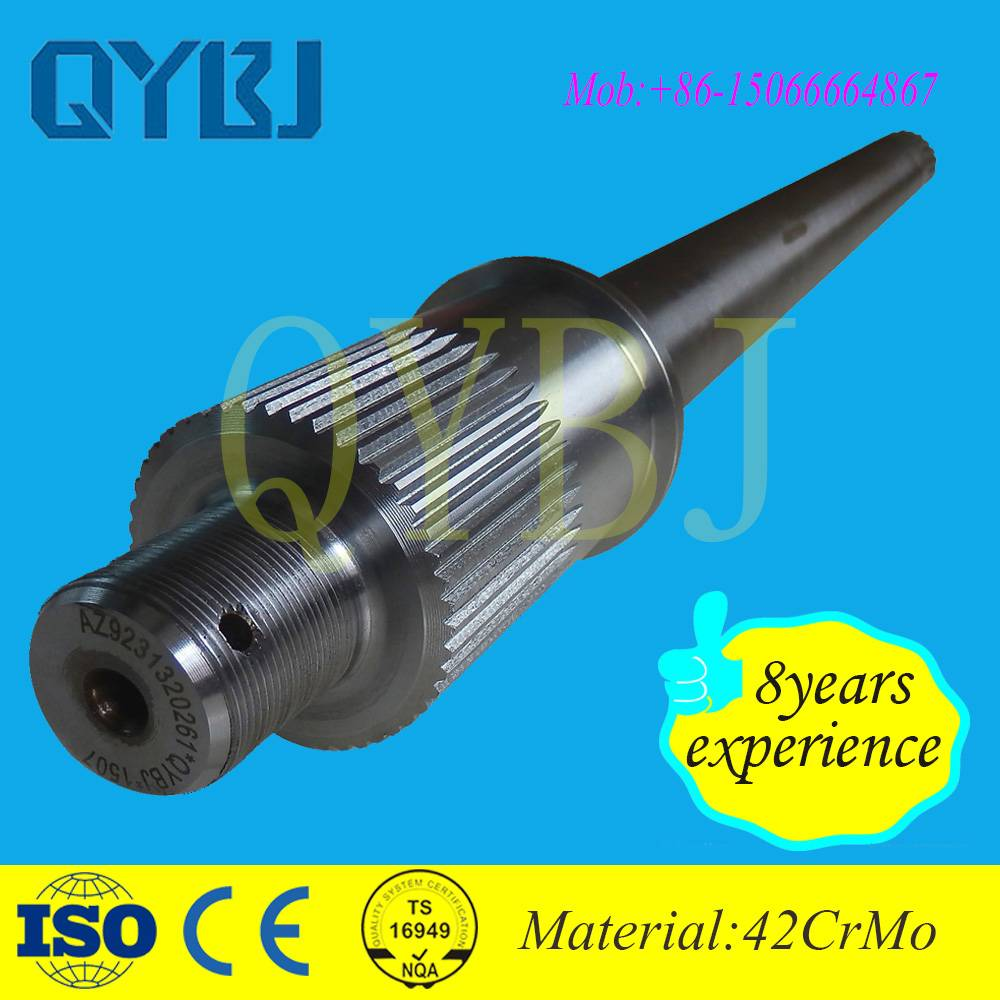 Steel Material and Drive Shaft Center tandem axle