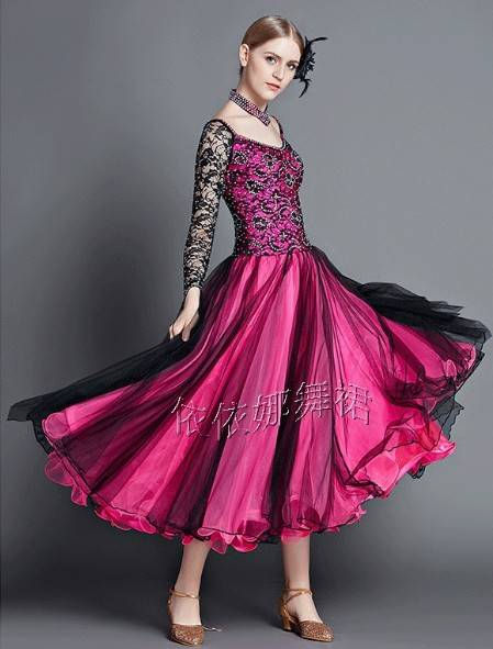 Custom-Made Ballroom Dance Dress Latin Dress Dancewear Ballgown Dance Costume