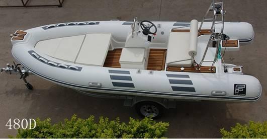 16 feet rigid inflatable boat RIB480D yacht tender