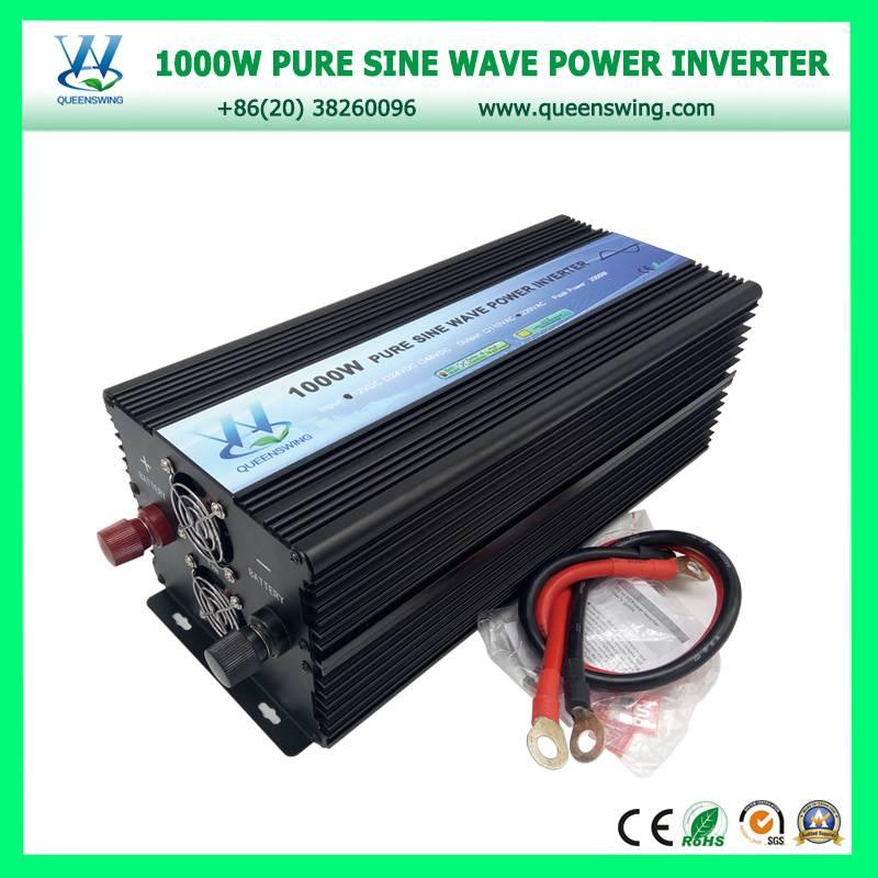 12Vdc 220Vac 1000W Power Inverter Pure Sine Wave with digital display