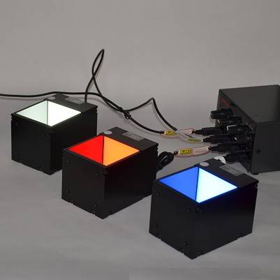 Coaxial lights for automated inspection