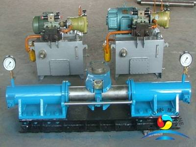 Marine tilt type hydraulic steering gear system