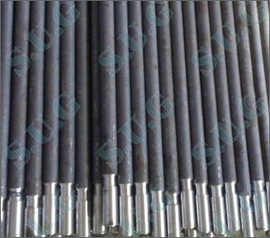 Rock drilling extention rods