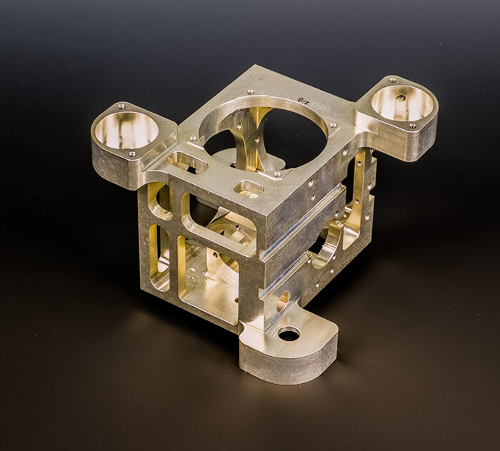 Precision Machined Brass Part