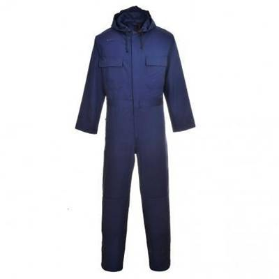 Flame Retardant hooded coverall