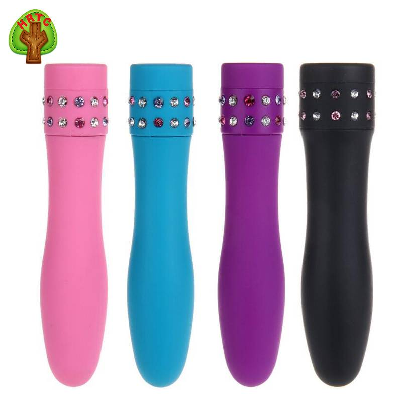2016 Hot Sale Colorful Multi Speed Waterproof ABS Material Diamond Vibrators Adult Sex Toys For Woma