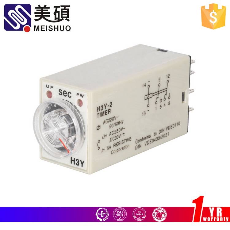 MEISHUO time relay H3Y - 4