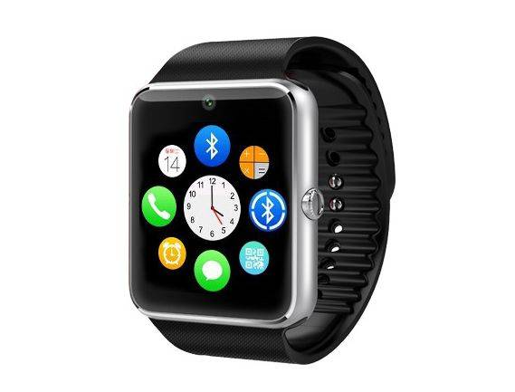 2016 Wholesale Hot Selling Fashion Design GT08 Bluetooth Smart Watch for Mobile Phone