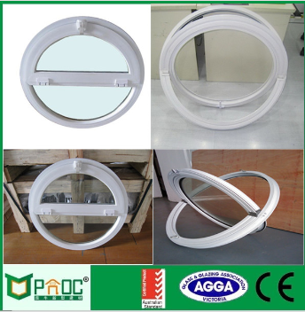 Fast shipping Aluminum frame customized colorful round window