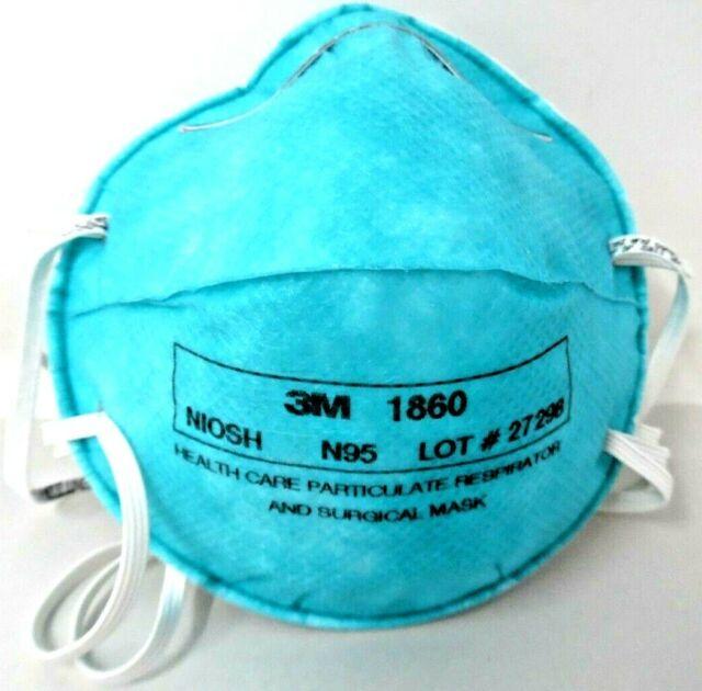 3M N95 1860 Particulate respirator