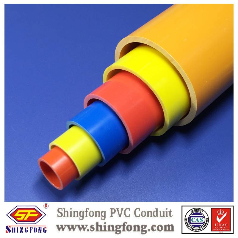 colored pvc pipe
