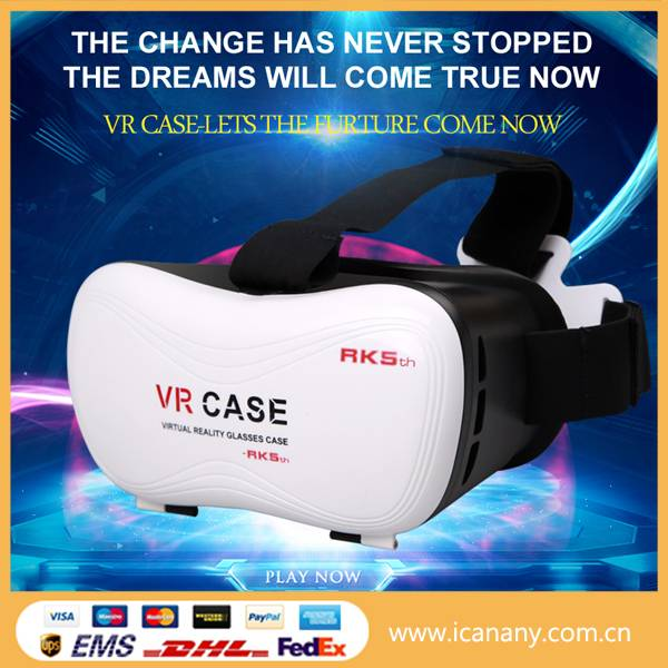 New invention 2016 vrarle vr vr glasses virtual reality vr 3d glasses