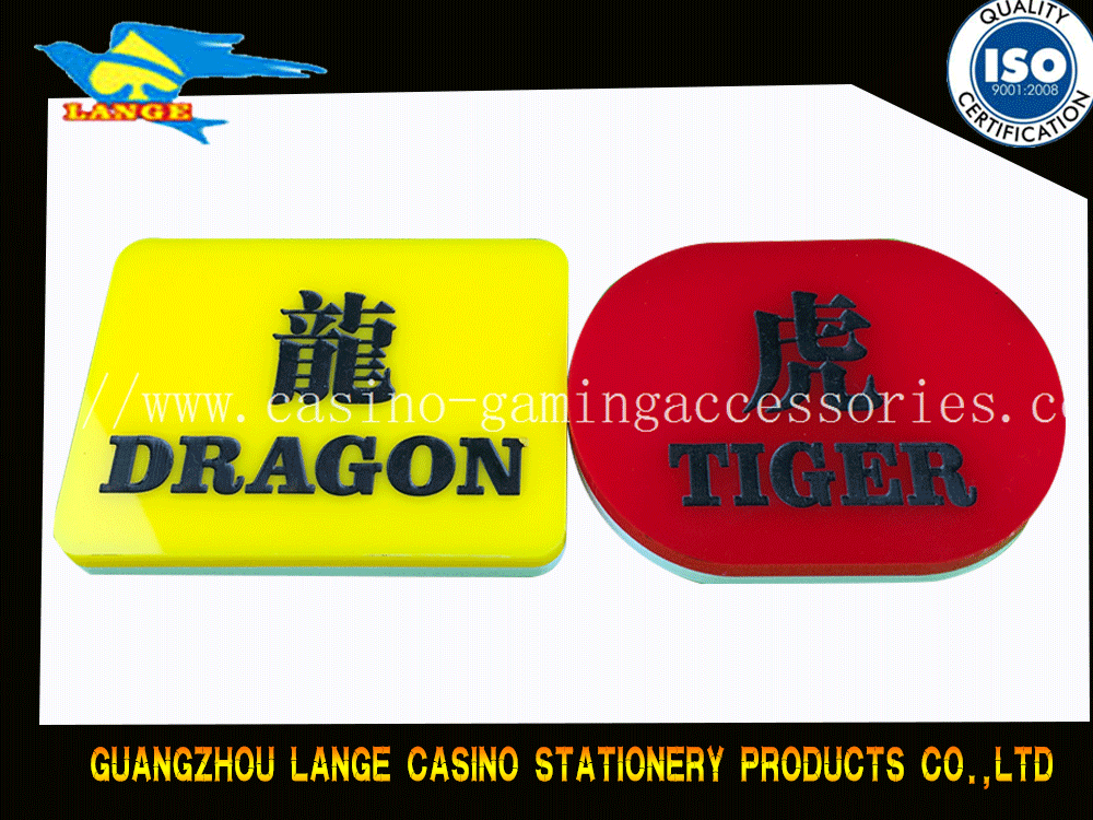Player Button Tiger Button Dragon Button for Casino Game Customized Available
