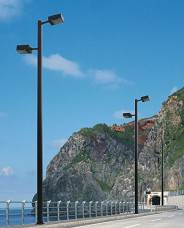 IP65 CE & RoHS 120W LED with pole Street Light