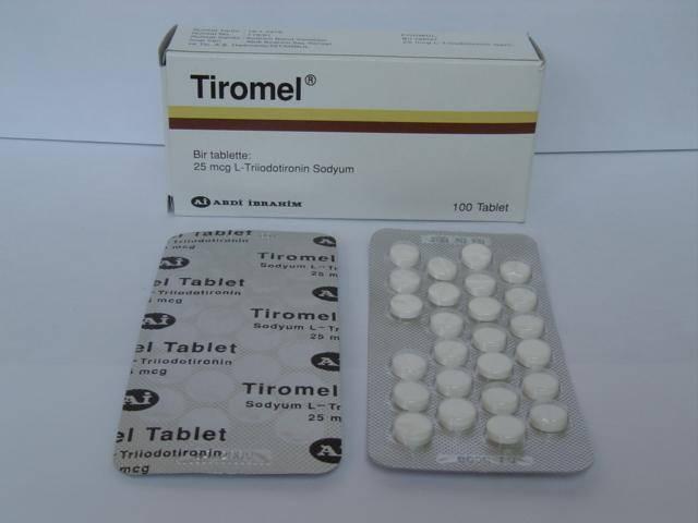 Cytomel T3 thyrponine 25mcg 100tb