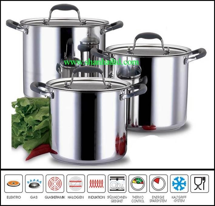 6 piece stainless kitchen utensils SC516