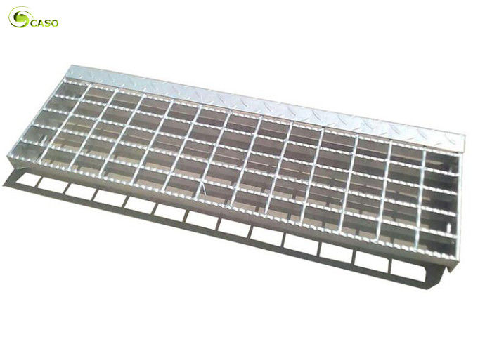 Flat Bar Expanded Metal Mesh Panels Hot Dip Galvanized Mild Steel Grill Treads