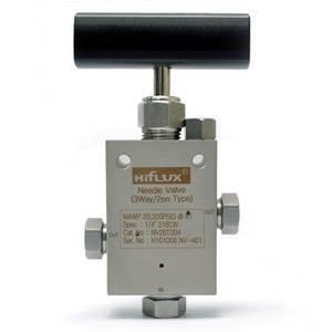 HIFLUX - High Pressure Needle Valve 3Way/2on Type